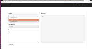 micro-web select service