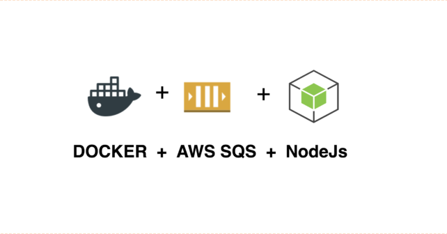 NodeJS Consumer for AWS SQS using Docker | | coding, experiments and